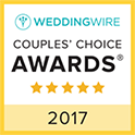 Casey Fatchett Photography wins WeddingWire Couples' Choice Award 2017