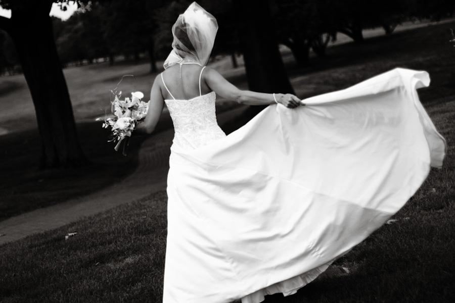 self conscious bride