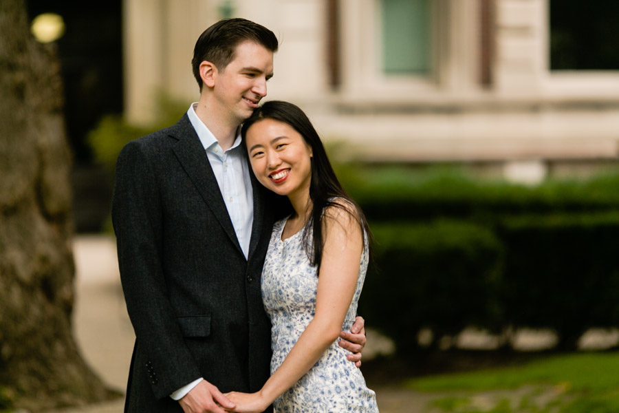 Columbia University campus engagement photos by Casey Fatchett - fatchett.com