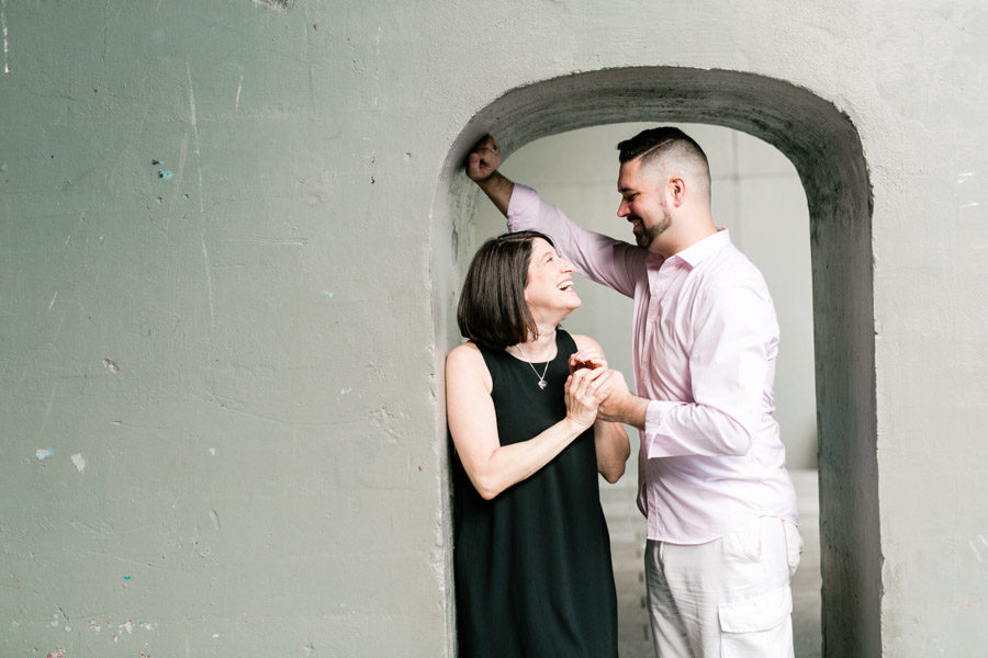 Highline Park NYC engagement photos by Casey Fatchett - fatchett.com