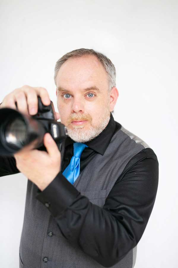 self conscious photographer